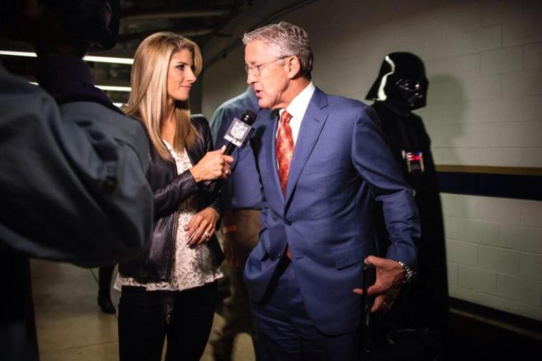 Seahawks Coach Pete Carroll Gets Photobombed by Darth Vader