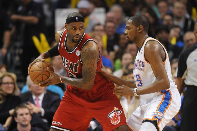 Will Kevin Durant Follow the LeBron James Path to First NBA Title?