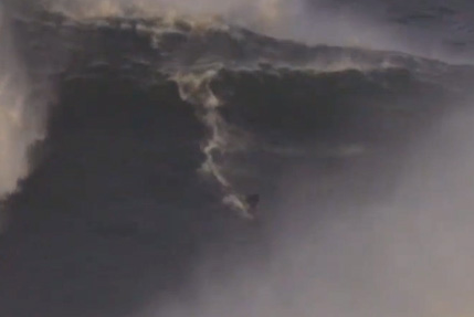 Maya Gabeira Inches Away from Death at Nazare