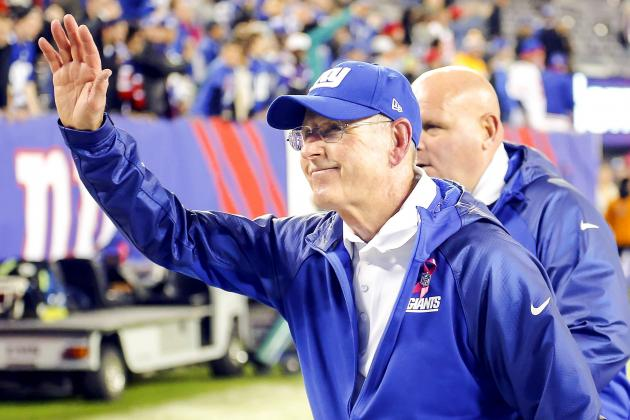Tom Coughlin Hopes Giants Special Teams Has Gotten 'under Control'