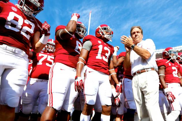 Nick Saban's Nightmare Finish to the Season Could Boast 3 Straight Spread Teams