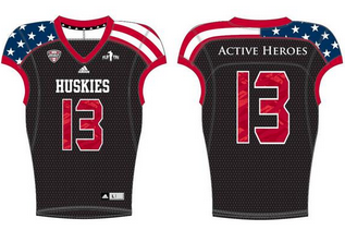 Northern Illinois to Wears Stars and Stripes Unis