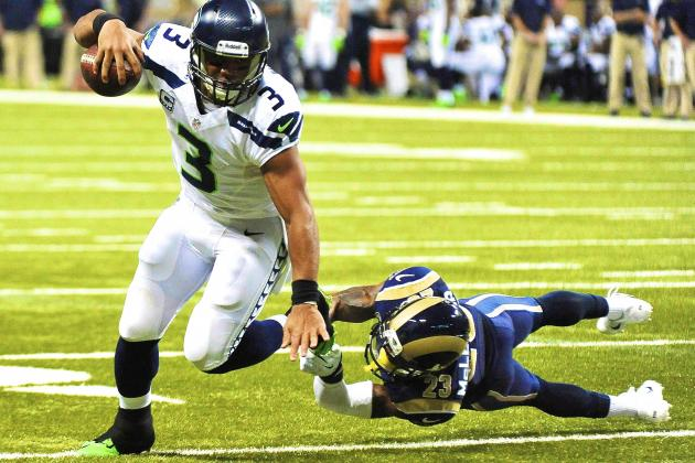 Seattle Seahawks vs. St. Louis Rams: Live Score, Highlights and Analysis