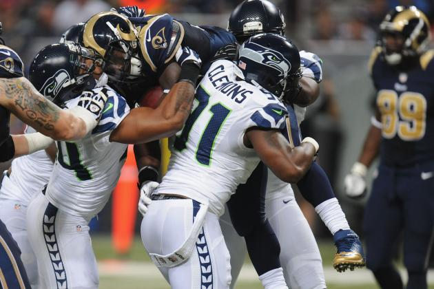 Seahawks' Goal-Line Stand Saves the Day vs. Rams