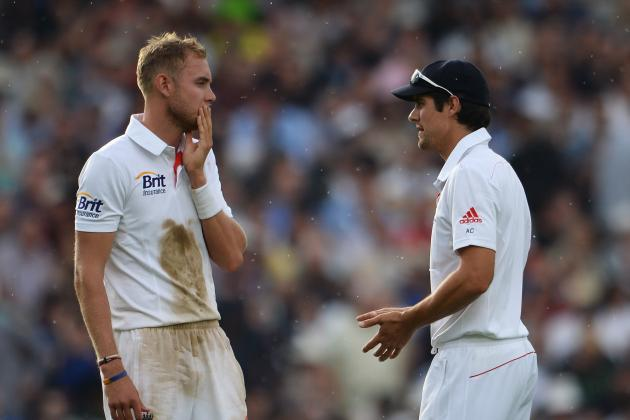 Alastair Cook and Stuart Broad Injuries: Updates on England Duo Ahead of Ashes