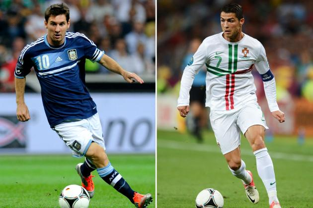 Lionel Messi Preferred to Cristiano Ronaldo by Sepp Blatter in Funny Interview