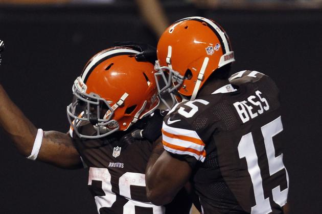 Bess Says 'I've Got to Step Up' to Replace Injured Travis Benjamin