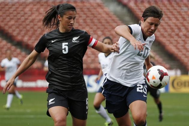 USA vs. New Zealand Women's Soccer: Game 2 Date, Time and Live Stream Info