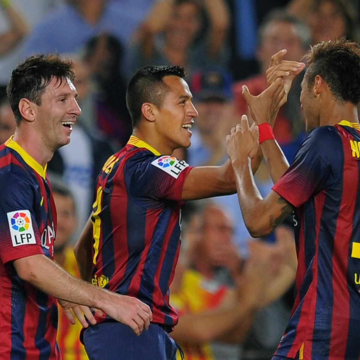 Barcelona Vs Celta Vigo In Youtube: Celta Vigo Vs. Barcelona: Live Player Ratings For Barca