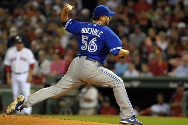 Buehrle, Dickey Named Gold Glove Finalists