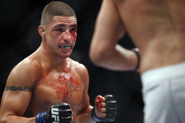Diego Sanchez Flips out on Melvin Guillard and Conor McGregor