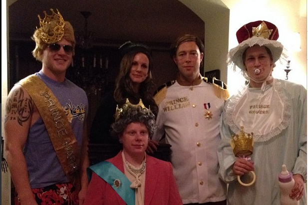 Instagram: MacKinnon, the Royal Baby for Halloween