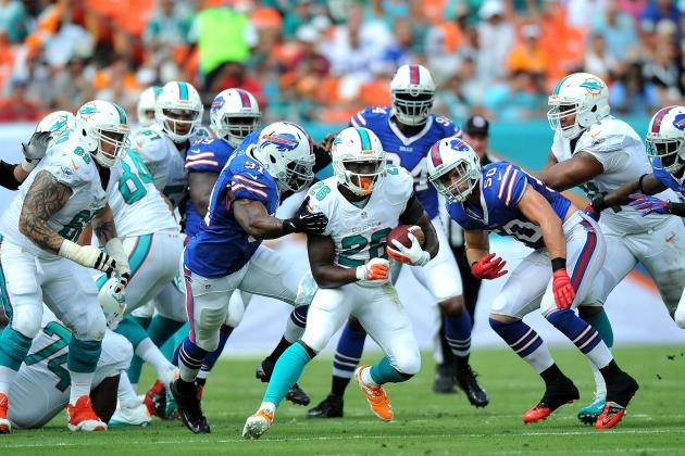 Miami Dolphins Must Stay Committed to Running Game to Right the Ship in 2013