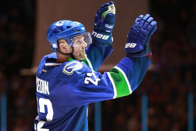 Report: Canucks, Sedins' Agent Met Monday