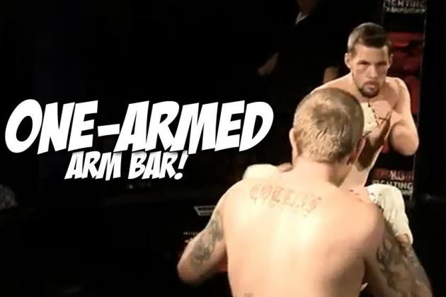 One-Armed Fighter Makes His MMA Debut...and Wins Via ARM BAR