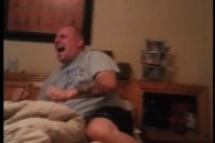 Lions Fan Freaks out in Hilarious Fashion After Surprise Win over Cowboys