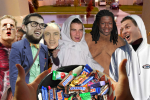 The NFL Goes Trick-or-Treating