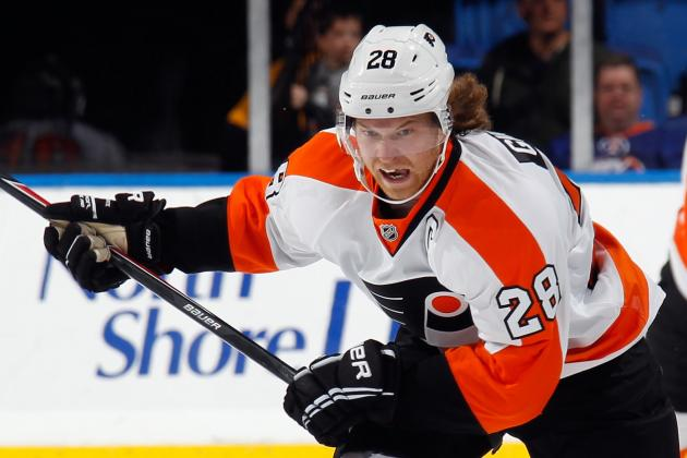 Flyers Try for Three Straight; Giroux Still Without a Goal