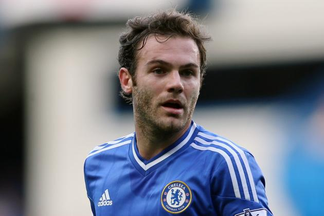 GIF: Juan Mata Puts Chelsea 2-0 Up Versus Arsenal with Powerful Drive