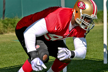 49ers Activate Rookie DT Tank Carradine