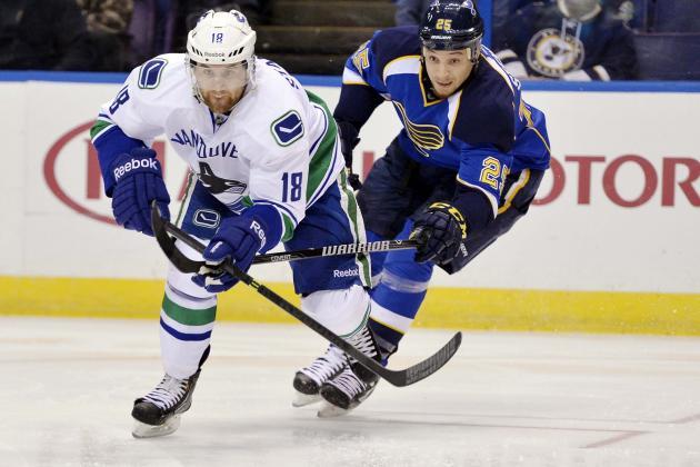 NHL.com: Blues Get Positive Injury News on Stewart, Paajarvi