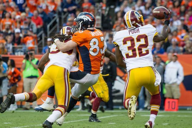 Redskins Release Jordan Pugh to Make Room for Brandon Meriweather