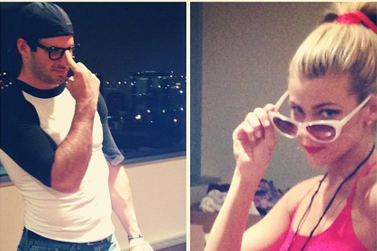 Sam Steele-Ponder and Christian Ponder Dress Up as Characters from 'The Sandlot'