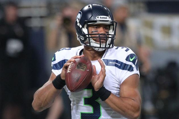 Russell Wilson and Percy Harvin's Updated Fantasy Value After Sidney Rice Injury