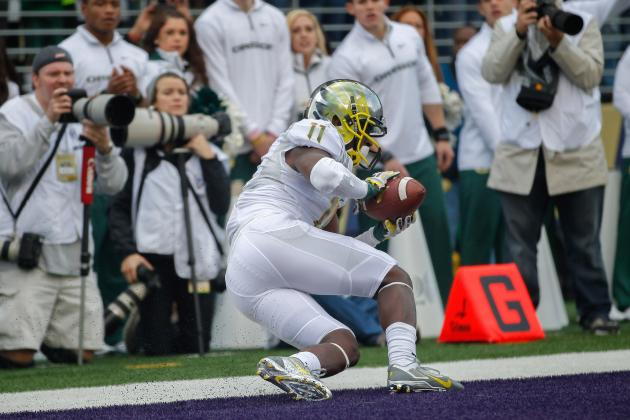 De'Anthony Thomas Is a Luxury for the Oregon Ducks