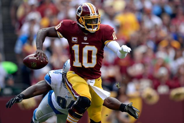 Robert Griffin III Will Bounce Back with Huge Fantasy Game in Week 9