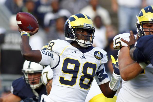 Michigan vs. Michigan State: Can Devin Gardner Avoid Disaster vs. Spartans DBs?