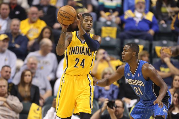 Paul George Primed for Stardom as Pacers Win Season Opener