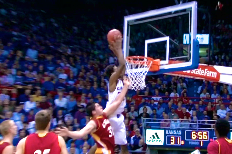 Andrew Wiggins Throws Down a Huge Alley-Oop in His Preseason Debut