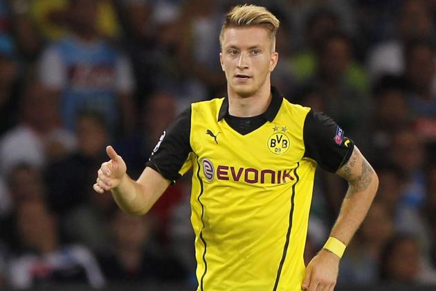 Marco Reus Transfer Rumoured as Manchester United Target World's 'Best Players'