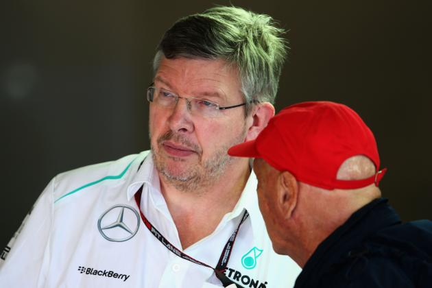 Ross Brawn Exit Reports Labelled 'Bull****' by Mercedes Chairman Niki Lauda
