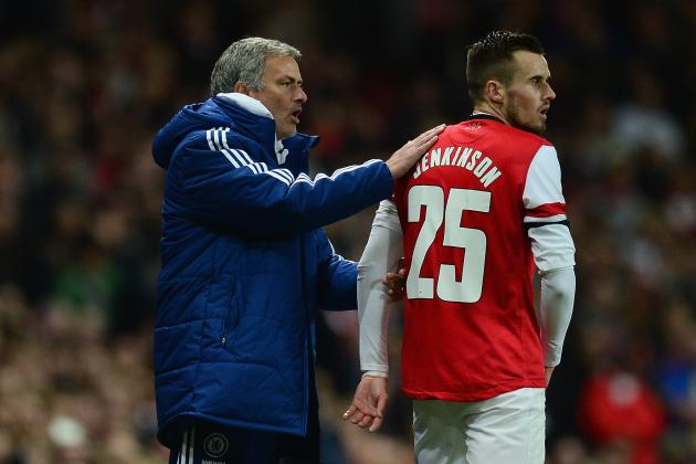 Chelsea Display Shows Why Carl Jenkinson Is Not Ready to Replace Bacary Sagna
