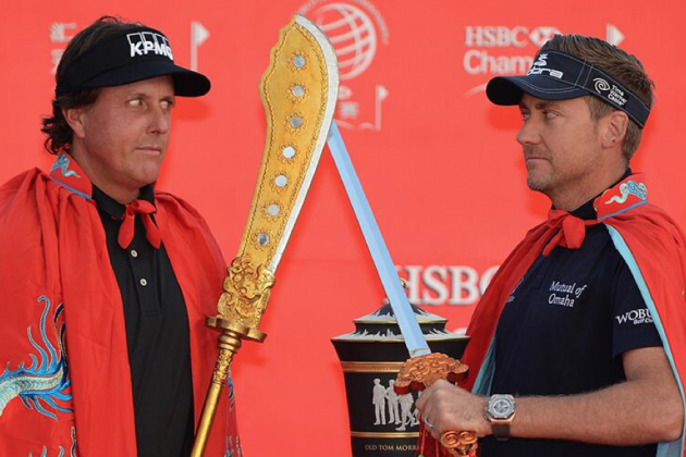 Things Got Weird at the WGC Champions in Shanghai, Guys