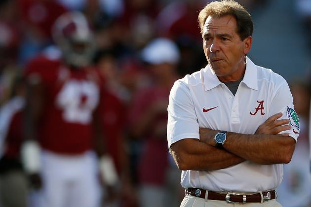 Why Nick Saban Is the Top College Football Coach at Making In-Season Adjustments