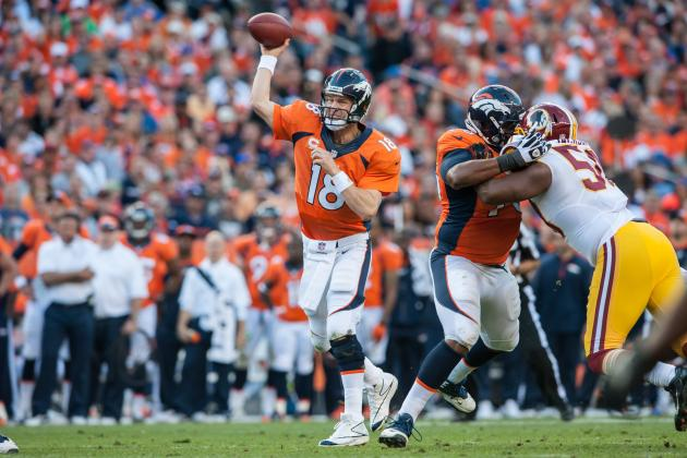 Denver Broncos: Why Is Peyton Manning Struggling to Throw Deep?