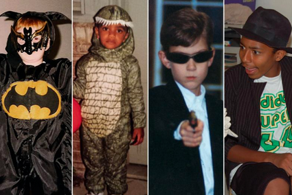 CBB Stars' Halloween Costumes of Yesteryear