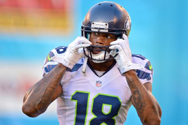 Sidney Rice Injury: Updates on Seahawks WR's Knee and Head, Likely Return Date