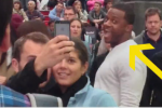 Randall Cobb Photobombs New York City