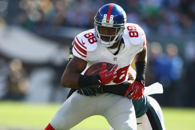 Hakeem Nicks Stays Put with Giants as Deadline Passes Without Deal