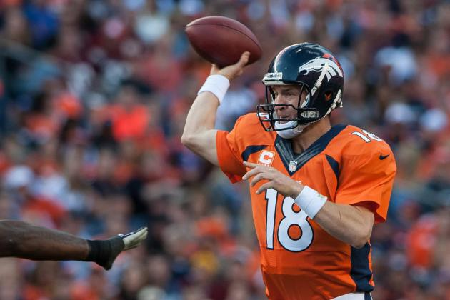 Peyton Manning Won't Be Doing Much This Week