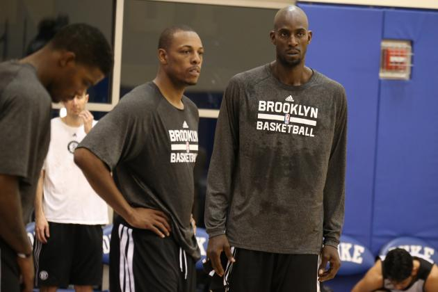 What to Expect from Kevin Garnett and Paul Pierce in Brooklyn Nets' Opener