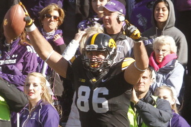 Iowa Proposes Social Media Bet to Wisconsin Regarding This Week's Game