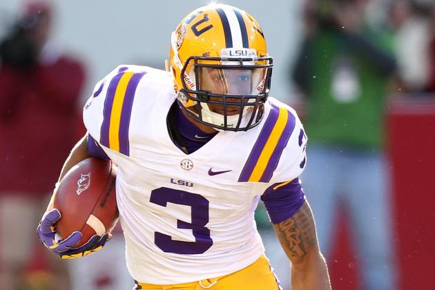 WR Duo Odell Beckham Jr. and Jarvis Landry Likely High NFL Draft Picks