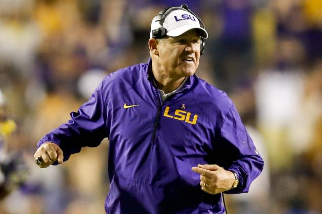 Les: Game of the Century Tag on 2011 LSU-Bama Showdown 'Was a Stretch'