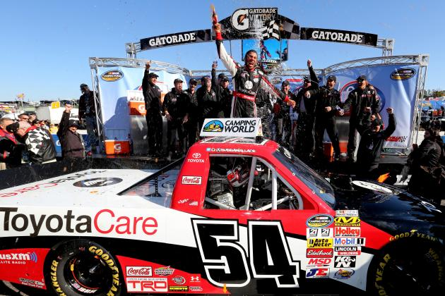 What the Future Holds for Darrell Wallace Jr. After Historic Martinsville Win