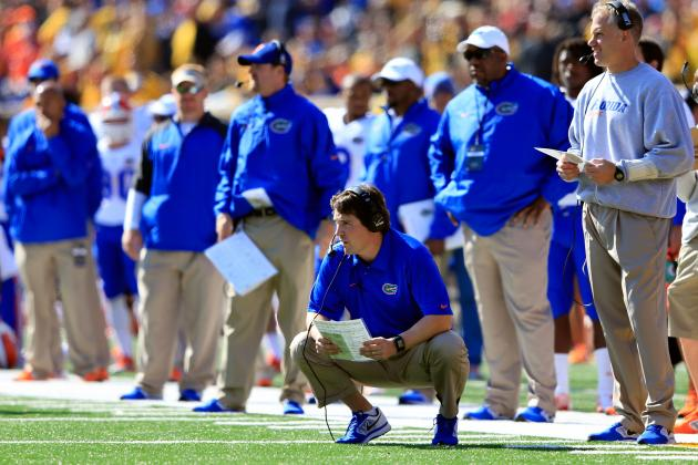 Will Muschamp Frustrated with Gators' Line Play